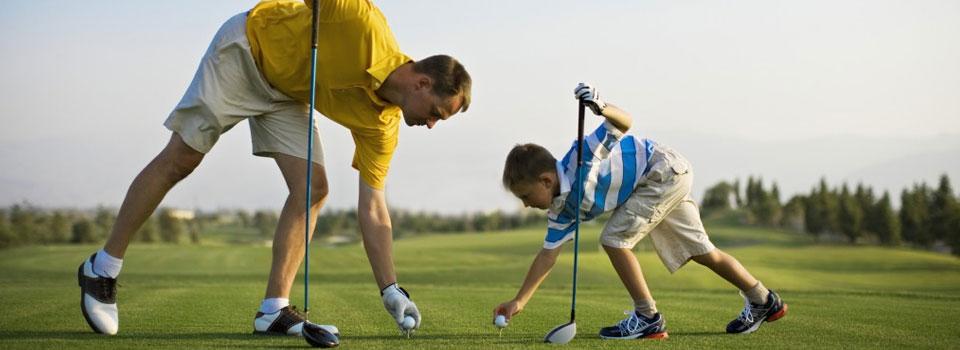 Father-Son-Golf