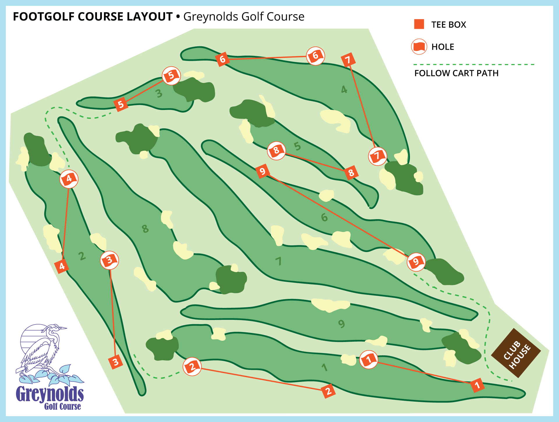 FootGolf Course Layout